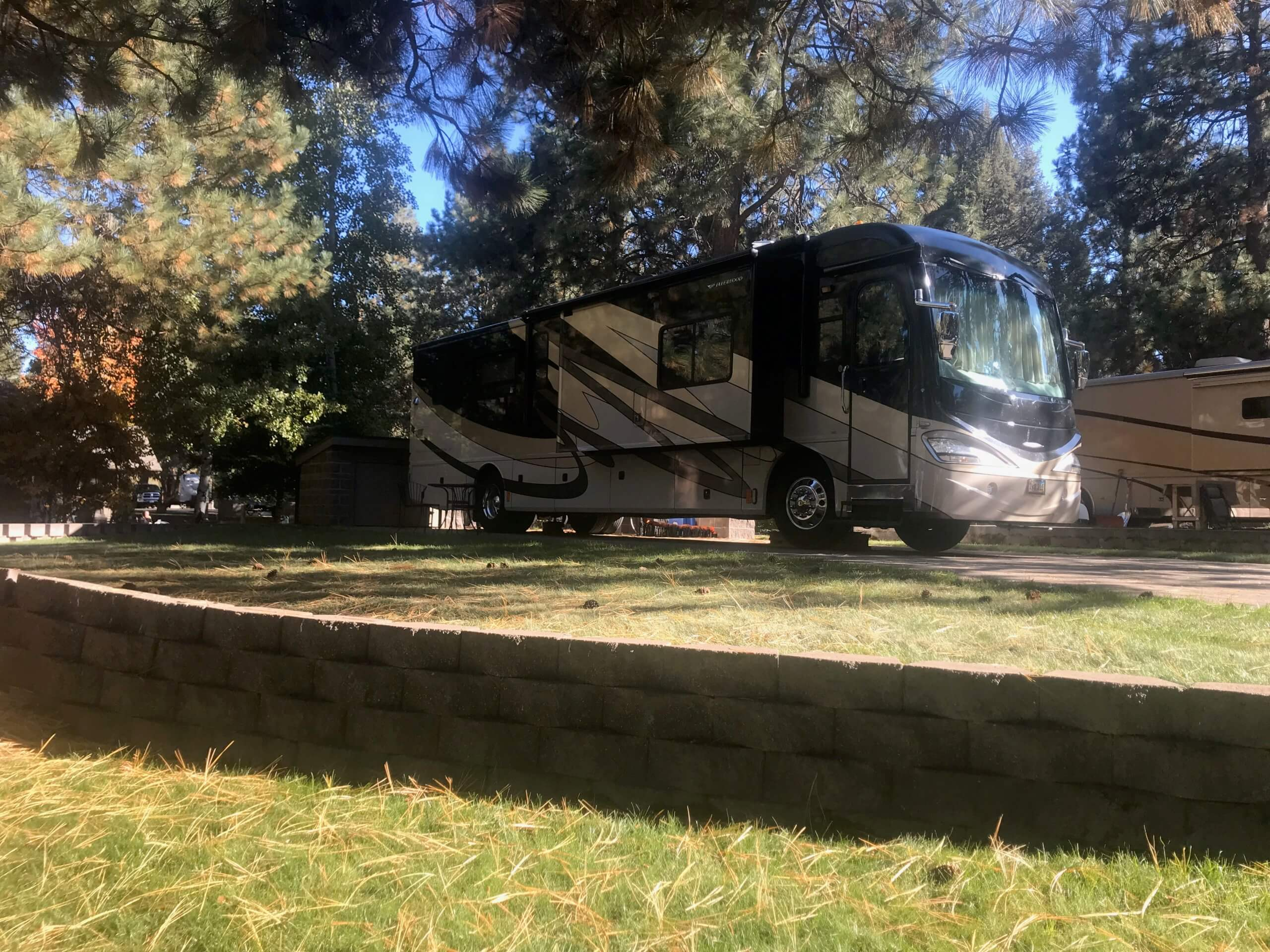 Our RV in Bend, OR