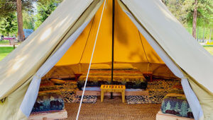Glamping OR Crater