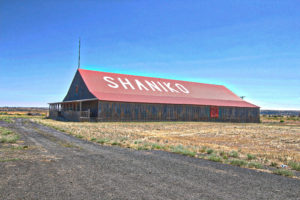 Shaniko, OR Barn