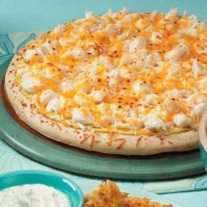 Crab Pizza