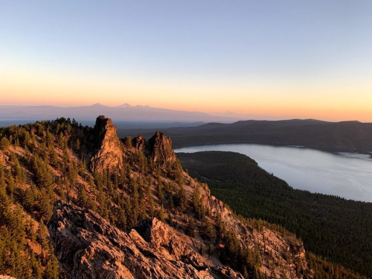 Newberry National Volcanic Monument in Oregon