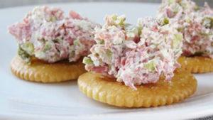 easy rv recipe ham dip