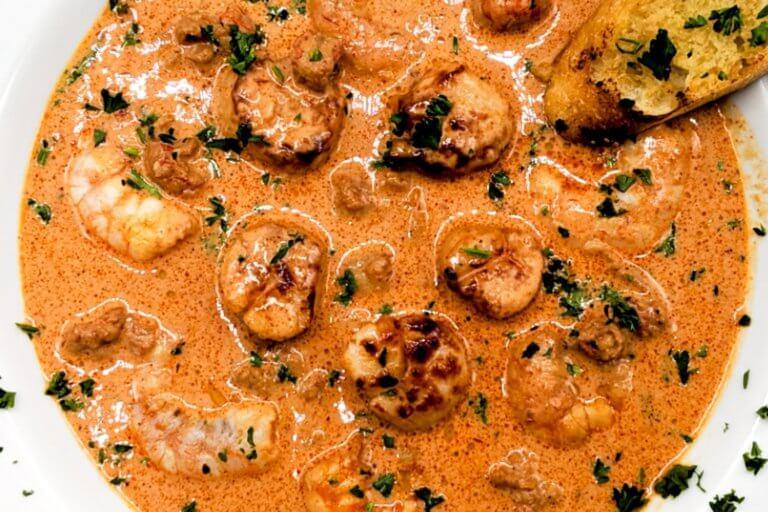 Seafood Pan Roast
